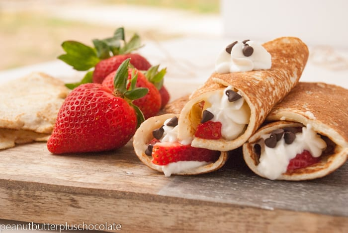 Healthy Paleo Crepes {Gluten Free}