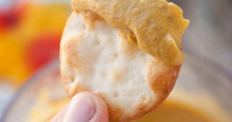Pumpkin Hummus – Dip it or Spread it!