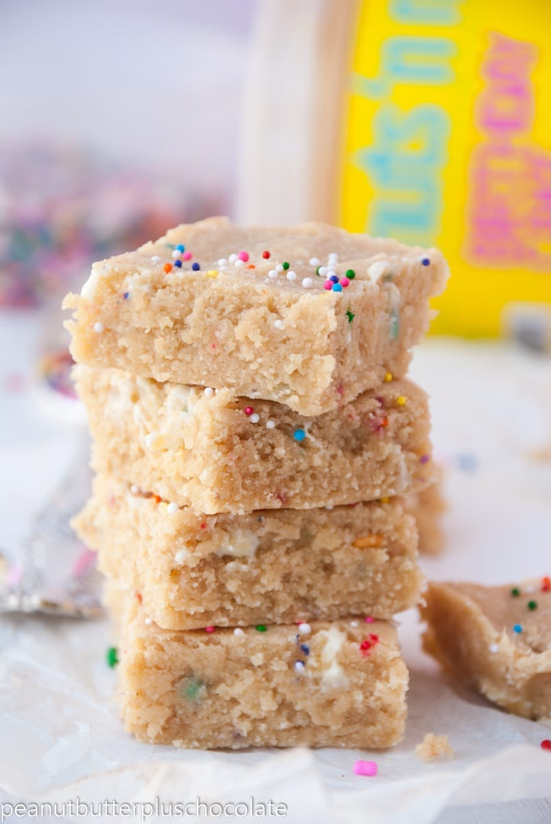 Healthy White Chocolate Peanut Butter Bars