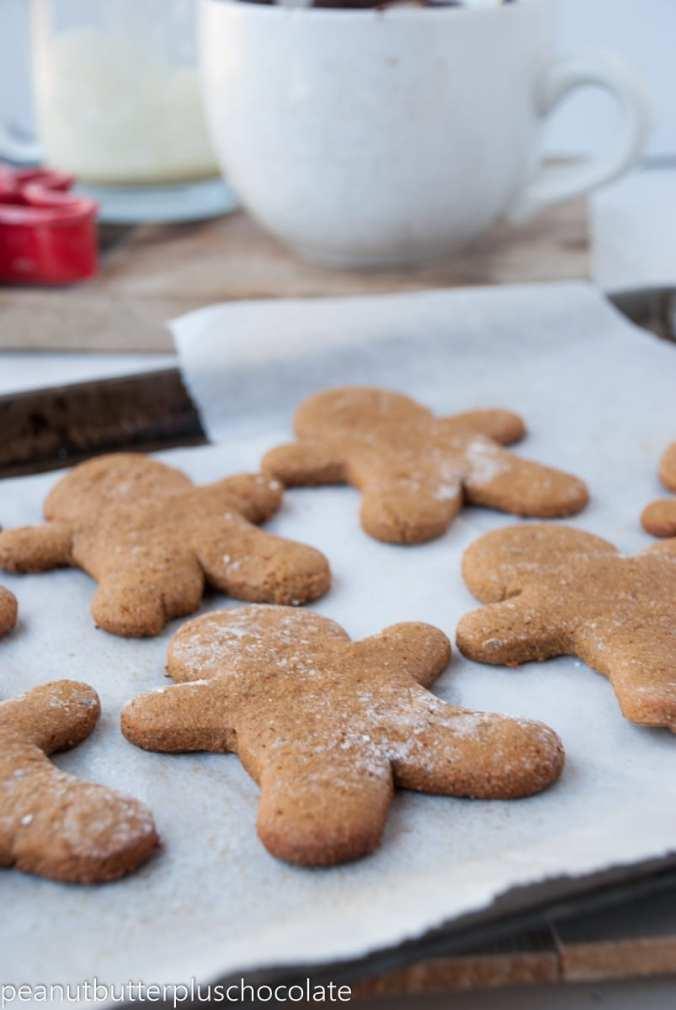 Healthy Gingerbread Men {Vegan & Gluten-Free}