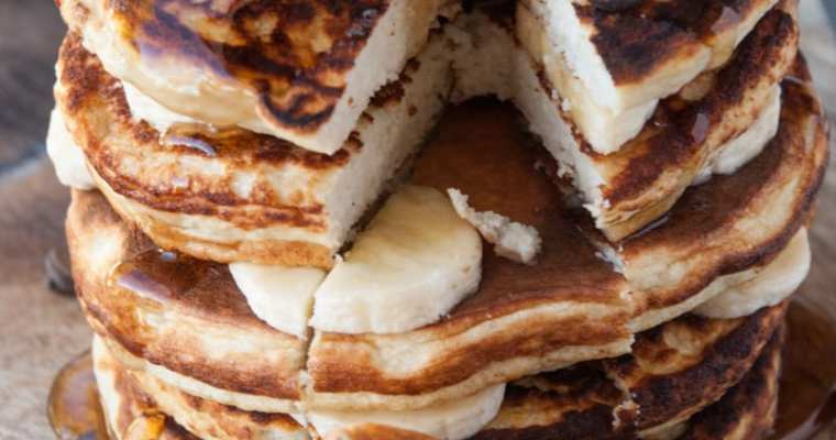 The ULTIMATE Healthy Protein Pancake Recipe