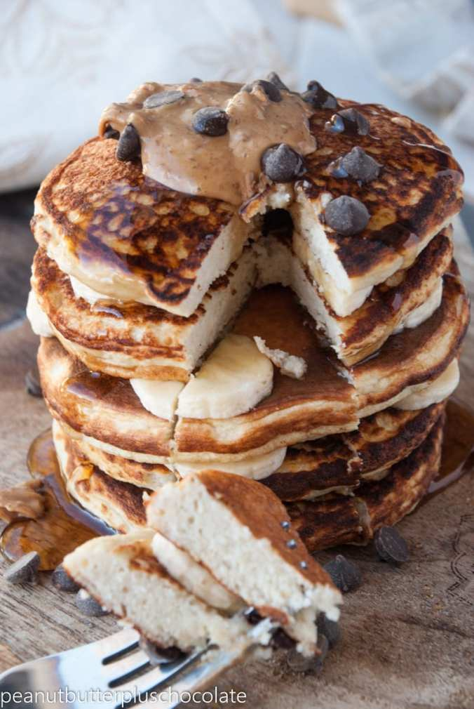 The ULTIMATE Healthy Protein Pancake Recipe for One