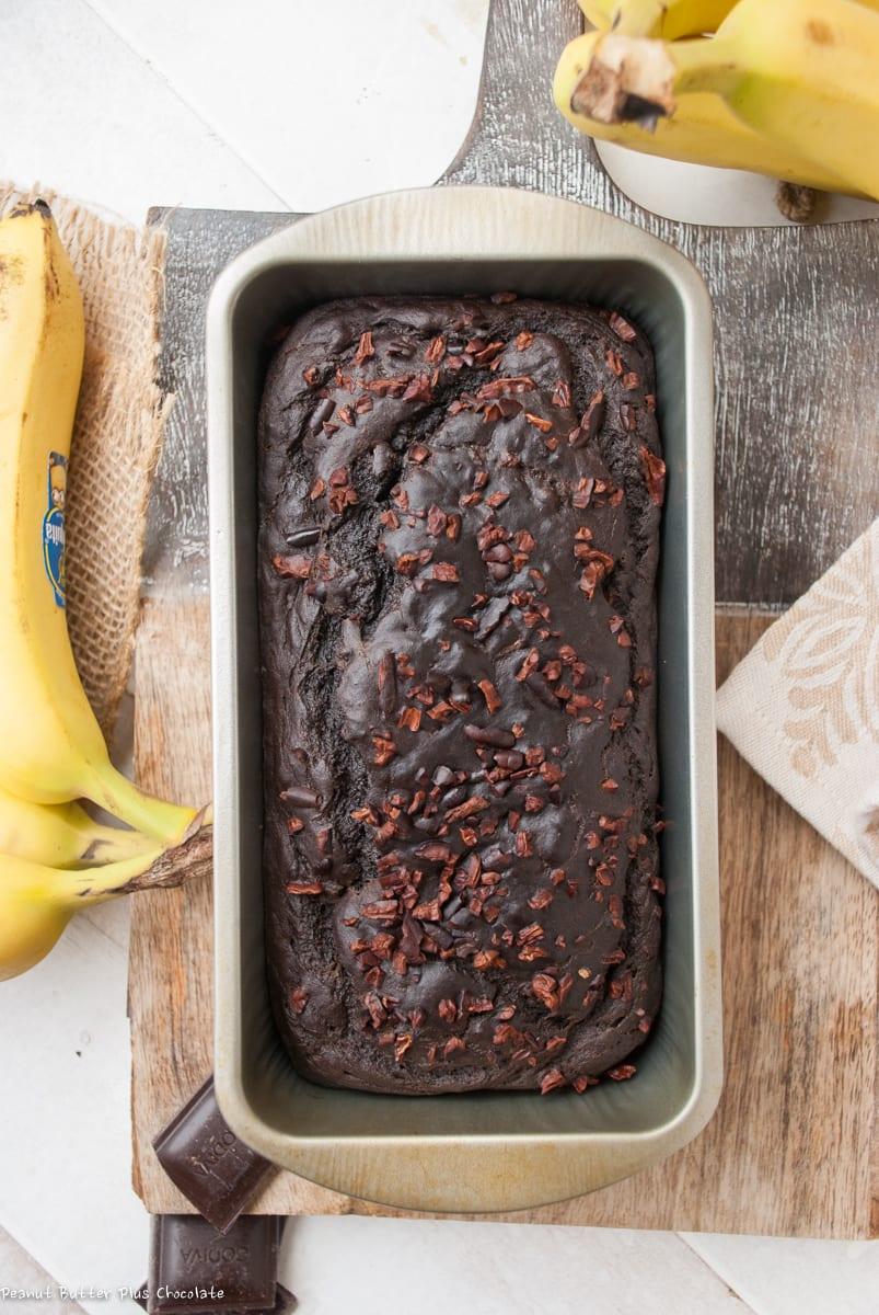 Healthy Dark Chocolate Banana Bread – ciarra