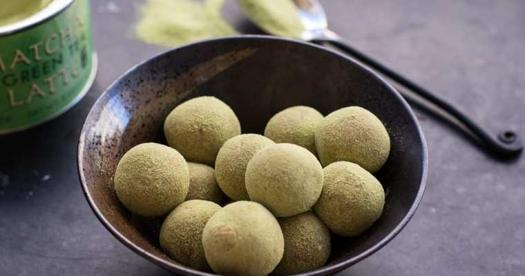 Healthy Matcha Green Tea Energy Bites