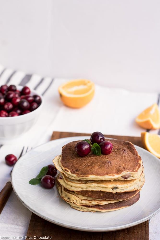 Cranberry Sweet Potato Breakfast Cakes