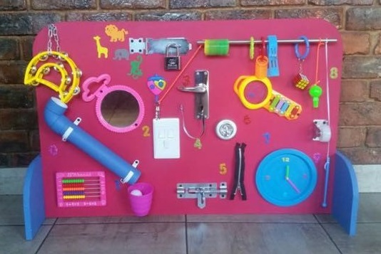 Activity Board for Infants