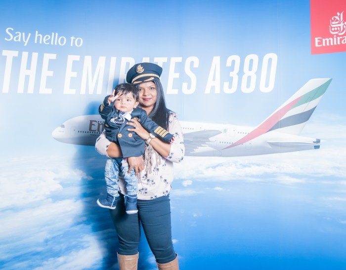 The Emirates A380 – I love it even more now as a Mummy