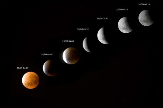 Lunar Eclipse 28 Sep 2015 - PeanutGallery247