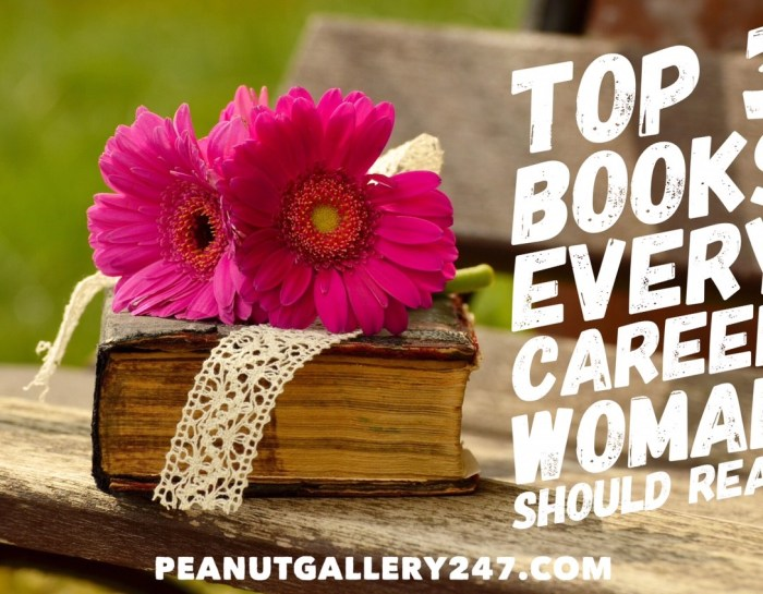 GUEST POST: Top 3 Books Every Career Woman Should Read (that will actually help you in your life)