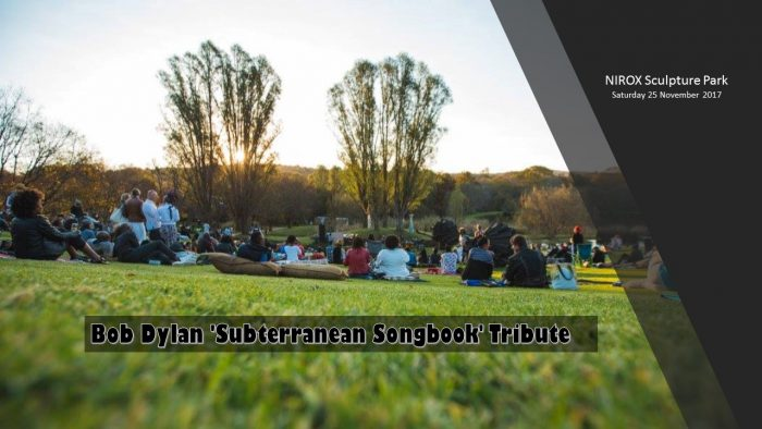 Bob Dylan Subterranean Songbook Tribute at NIROX Sculputure Park (WIN tickets)