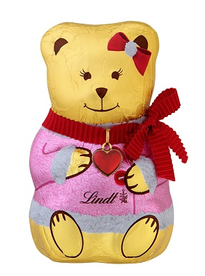 LINDT Chocolate TEDDY Girl 100g - PeanutGallery247