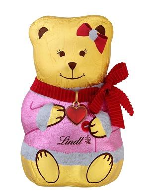 LINDT Chocolate TEDDY Girl 100g - PeanutGallery247