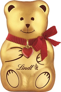 LINDT Chocolate TEDDY Milk 100g – PeanutGallery247