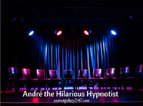 Andre the Hilarious Hypnotist (REVIEW)