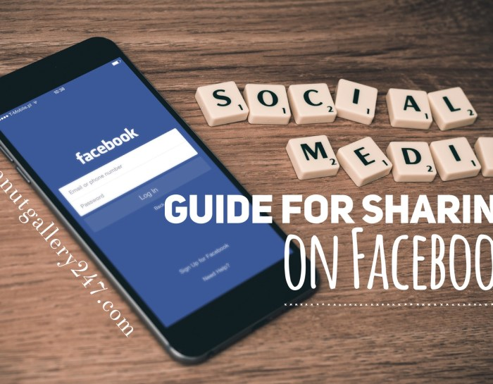 Social Media Guide for Sharing – Facebook