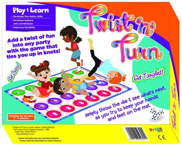 Board Games Review - Twist n Turn - PeanutGallery247