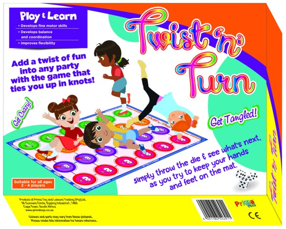Board Games Review - Twist n Turn - PeanutGallery247