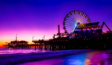 Amazing West Coast Landscapes - Santa Monica - PeanutGallery247