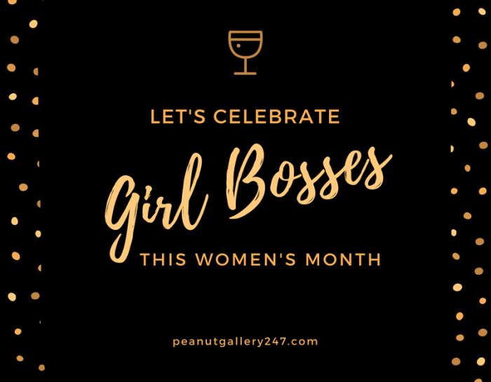 Let's celebrate & recognise Girl Bosses
