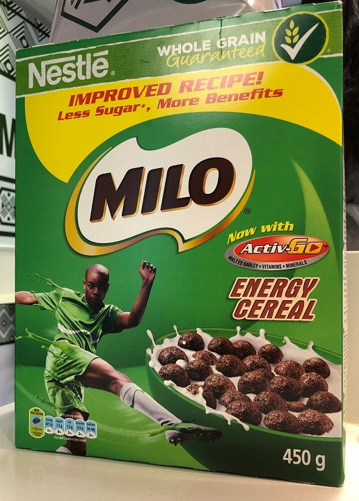 Milo Energy Cereal - Less Sugar, Better Benefits - PeanutGallery247
