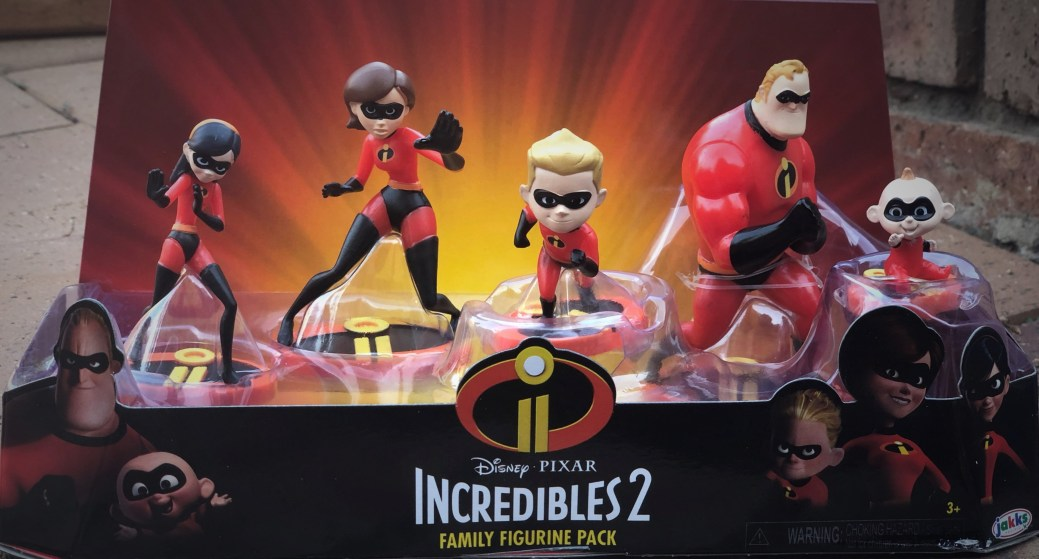 The Incredibles 2 Family - PeanutGallery247