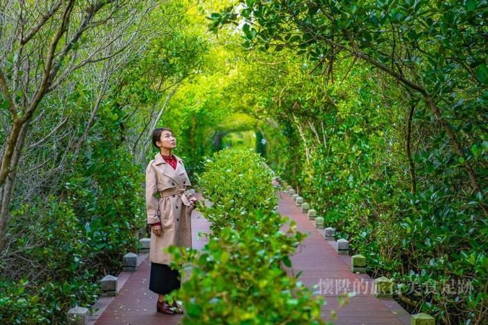 【台南景點】雙春濱海遊憩區:浪漫的沙灘鞦韆秘境、白色星空帳篷、叢林生態木棧道,台南的忘憂森林