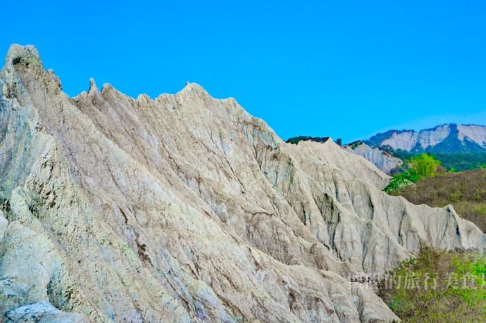 台南秘境 赤裸龍(彩疊山):大內自然奇景秘境,在龍脊上讚嘆鬼斧神工之美