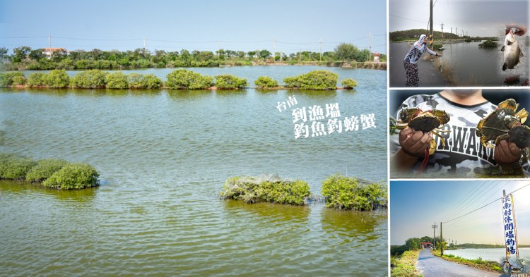 台南釣魚|溪南休閒塭釣場,種類豐富的海水魚蝦蟹任你釣,友善生態循環養殖,假日休閒好釣場