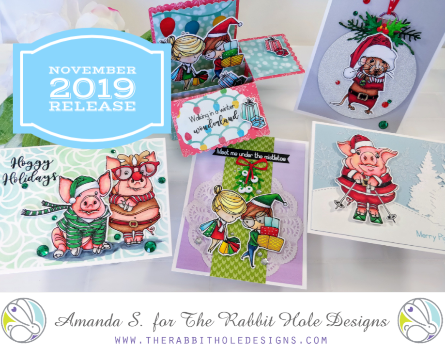 The Rabbit Hole Designs Christmas Release