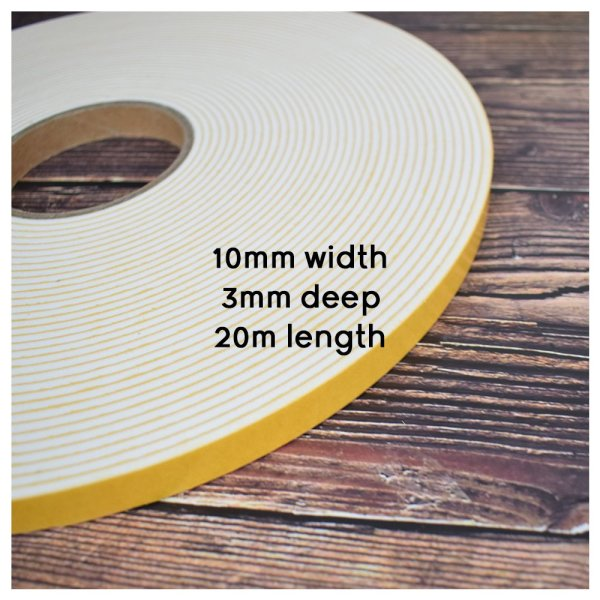 Double Thick Foam Tape