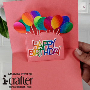 i-crafter balloon wiper card