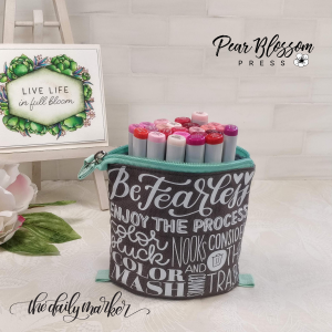 Collapsible Marker Bag Pear Blossom Press The Daily Marker Kathy Racoosin