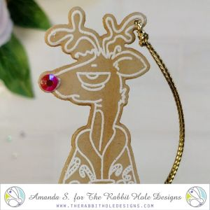 Caffeinated Reindeer Christmas Tags