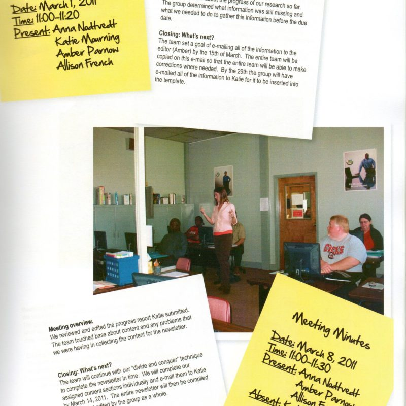 A sample deliverable created for Anderson Adult Education