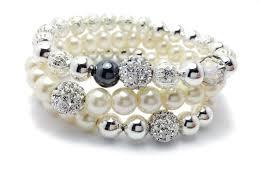 Pearl gemstone bracelet