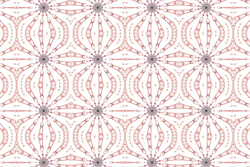 Fern Pink and Grey Pattern Pearl and Maude