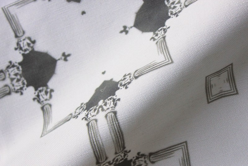 Dido Neutral Linen Fabric