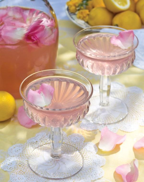rose lemonade for colorful summer living