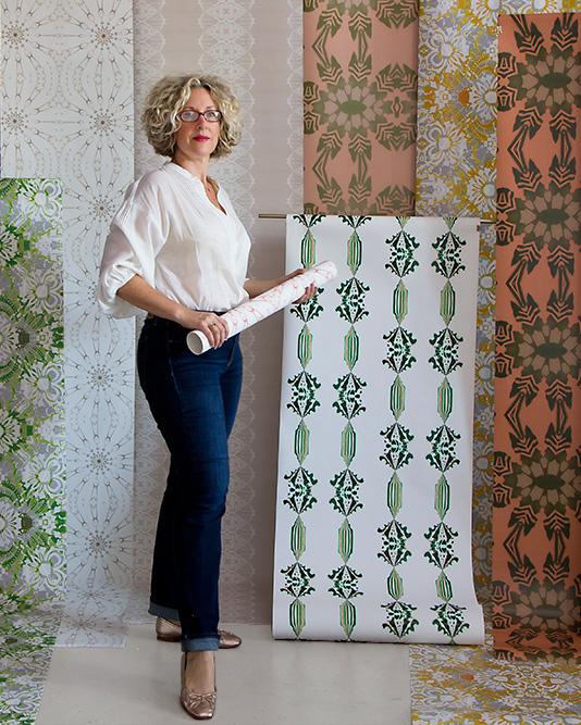 Teale Hatheway - artist, designer, founder Pearl & Maude
