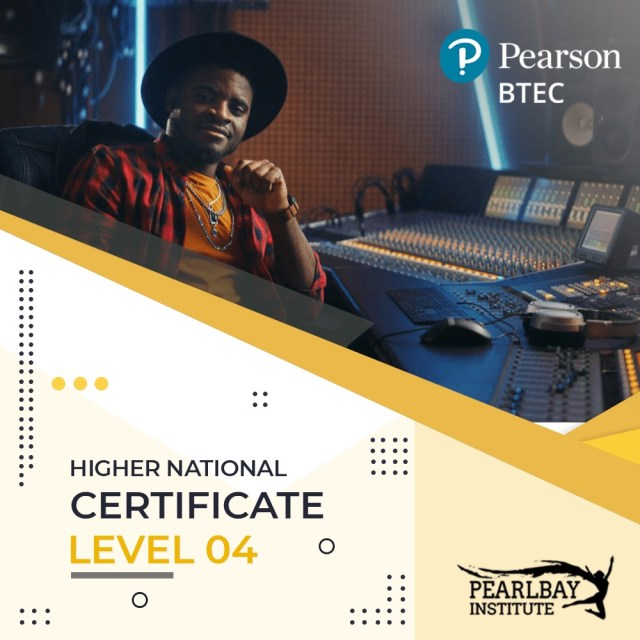 Pearson BTEC-Higher National Certificate – Level 04