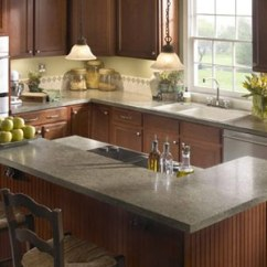 Kitchen Countertops Materials Oak Pantry Cabinet Pearl Design Group - Lakewood Counter Tops