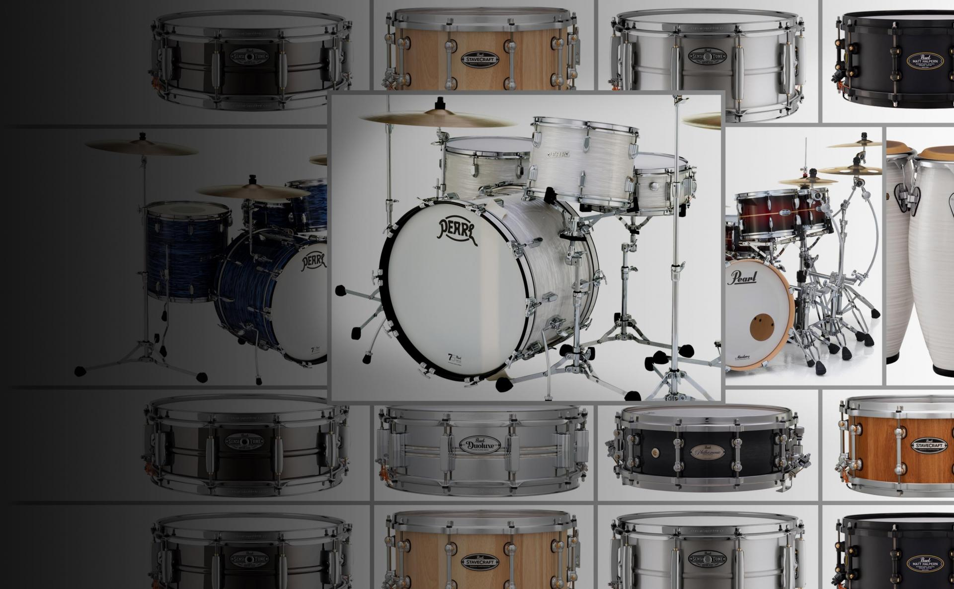 pearl drums official site