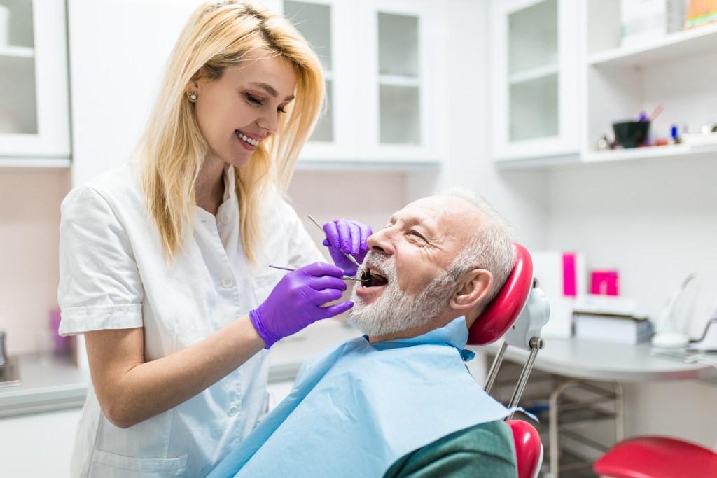 Senior Dental treatment