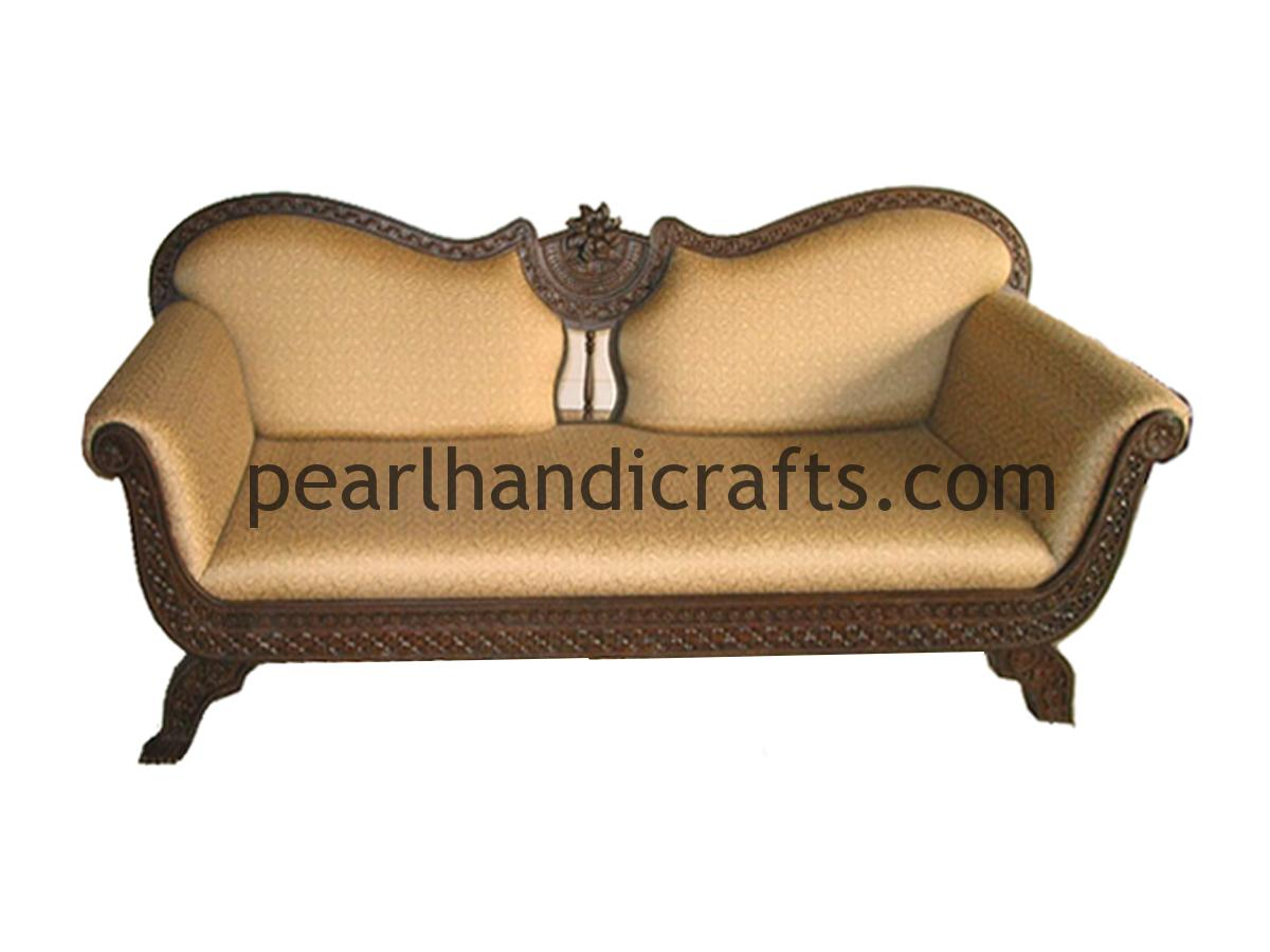 contemporary sofa sets india best prices on leather sofas indian set modern with carving pattern