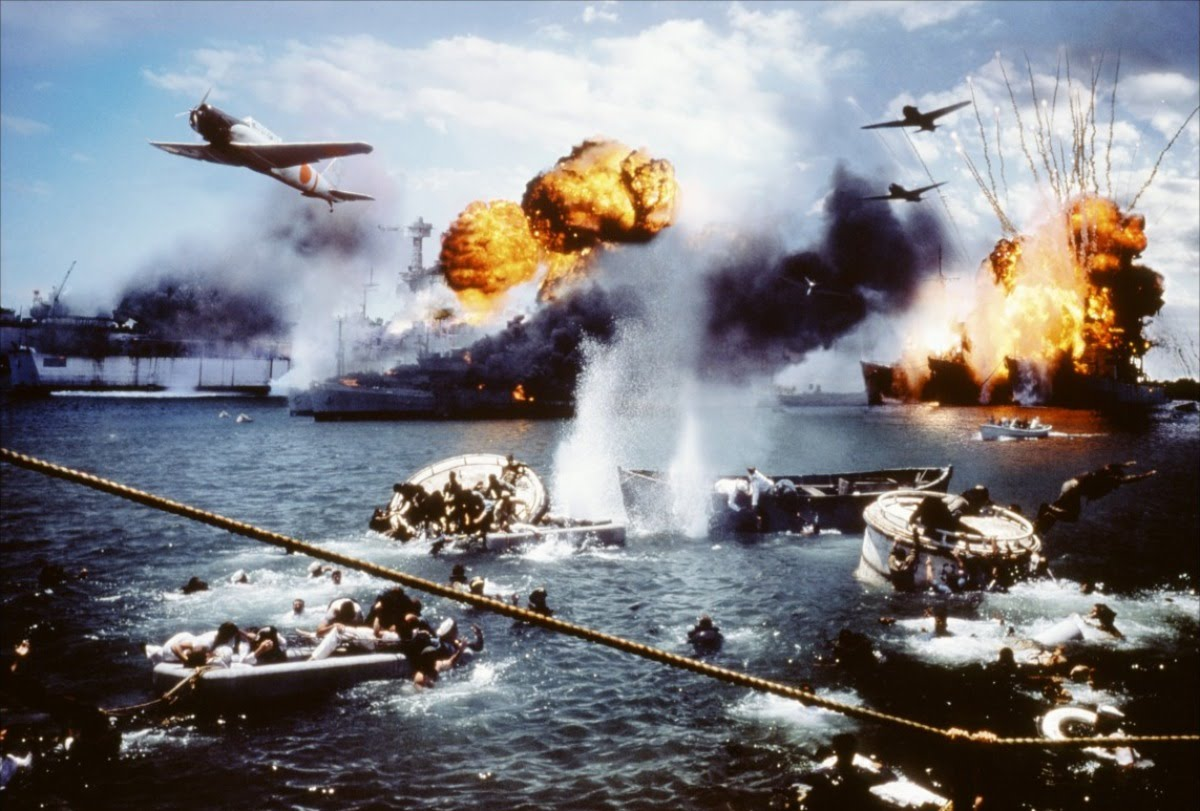 Jaw Dropping Color Photos Of Pearl Harbor Pearl Harbor