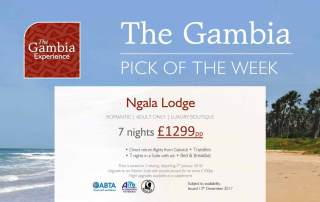 Dec 17 - Gambia Experience Offer - Ngala Lodge