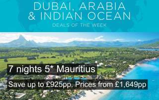 5* Mauritius Offer - Sep 18