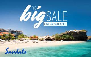 Pearl King Travel - Sandals Lasource Grenada Offer - Feb 18