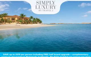 Pearl King Travel - 5 Star One & Only The Palm Dubai-offer-may-18