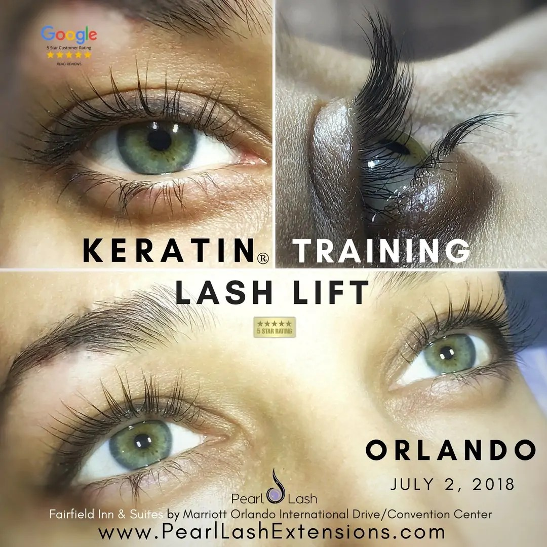 8c01f1c1a3f Orlando Eyelash Lift with Keratin Treatment Training Orlando | Pearl ...